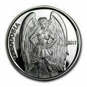 Theodosia Angels And Demons Steampunk Collection 1 Oz .999 Fine Silver Proof 2017