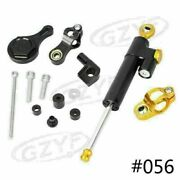 Cnc Aluminum Steering Damper With Mount Bracket Fit Yamaha Yzf R1/r6 2006-2015