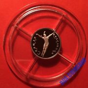 25 Roubles 1995 Russia Russian Ballet Sleeping Beauty Platinum Proof Rare