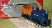 Williams Nw-214 Seaboard 6250 Dual Motor Nw-2 W/ Horn And Bell O/027 Wks/ Lionel