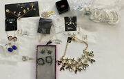 Wholesale Lot 20 Pieces, Earrings And More. Inc Kesi Lucky Brand And More 1240 Msrp