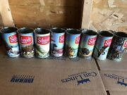 8-schmidt Beer Tumblers Scenic Can Mugs With Handles Rare Hard To Find No Repe