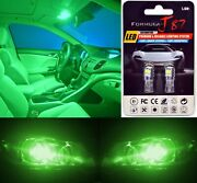 Led 3030 Light Green 194 Two Bulbs Interior Step Door Replacement Lamp Courtesy