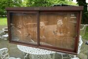 Antique Country Tobacco Store Display Cabinet Drinkless Kaywoodie Smoking Pipes