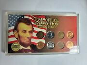 Oval Office Collections - Lincoln Penny - 8 Coin Collection With Coa
