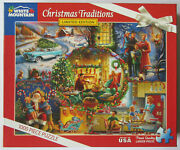 White Mountain Puzzles Lena Pigareva Christmas Traditions 1299 1000 Pcs Complete