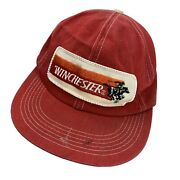 Winchester Patch Vtg K-products Ball Cap Hat Snapback Baseball