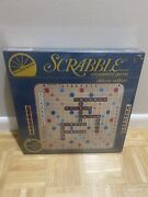 Nib Sealed From 1977 Scrabble Deluxe Edition Crossword Game 1977 Brand New