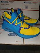 Under Armour Curry 6 Pe Family Business All Star Windbreaker Blue Size 12 Rare