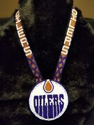 Native American Beaded Sport Pow Wow Medallion Necklace