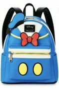 Disney Donald Duck Mini Backpack Rare New With Tags