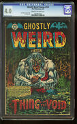 Ghostly Weird Stories 123 Cgc 4.0 L.b. Cole Cover