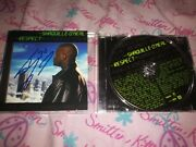 Shaquille Oand039neal - Rare Hand Signed - Respect - Music Cd Complete W/proof