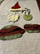 Longaberger Wrought Iron Small Snowman Face With Matching Liners Very Rare