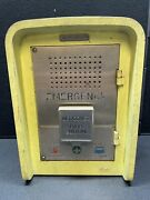 Vintage Philips Norelco Emergency Police Fire Station Call Box Alarm Button Pa