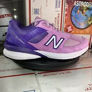 New Balance 990v5 Made In Usa And039prism Purpleand039 - W990nx5 - Size Womens 7.5