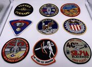 Amazing Lot 45 Patches Military Air Force Flight Test Nasa Space Shuttle Apollo