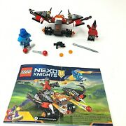 Lego 70318 Nexo Knights The Glob Lobber Knight Minifigures Manual 100 Complete