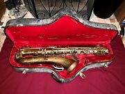 Vintage 1930and039s Martin Low Pitch Baritone Saxophone