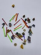 Lot Of Chima Weapons Swords Minifigs Lego Animals Repacement Parts Pieces