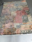 Paul Klee Rugs Matched Pair