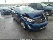 Driver Front Door Electric Sedan With Solar Glass Fits 11-16 Elantra 144890