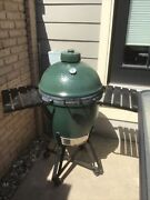 Big Green Egg Grill Large, With Nest And Shelves,local Pick Up Saint Charles,mo.