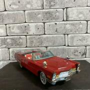 Bandai Cadillac Open Car Electrically Movable 1960's Vintage Toy F/s From Japan
