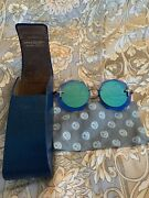 Loree Rodkin Scarlet Sunglasses Blue/green Double Flat Limited Edition Sold Out