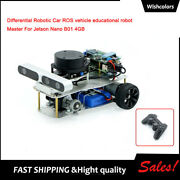 Differential Robotic Car Ros Vehicle Educational Robot For Jetson Nano B01 4gb