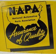 Napa Auto Parts Old Store Display Rack Advertising Sign Modac Fan Belts Rad Hose