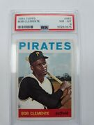 1964 Topps 440 Roberto Clemente Psa 8. Just Back From Psa.