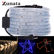 220v Led Strip Waterproof Round 2 Wire Neon Strip Neon Sign Led Light Christmas