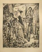 Anatoly Belkin, Apartment, Lithograph, Signed And Numbered In Pencil