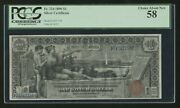 Fr224 1896 Silver Certificate Education Note Pcgs 58 Choice Au+ Wln738