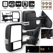 For 2004-2006 F150 Truck Power Heated Telescoping Towing Side Mirrors+led Signal