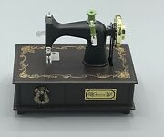 Rare Vintage Sewing Machine Music Box Plays Yesterday By Beatles