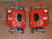 1969 1970 1971 1972 Chevelle Loaded Front Disc Brake Calipers W/ Pads Display