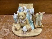 """Cherished Teddies Christopher """"old Friends Are The Best Friends"""" 950483"""