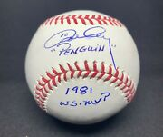 Ron Cey Signed And Inscribed Mlb Baseball Dodgers Psa Ac27418