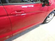Passenger Front Door 15-16 Fit Gas Model Auto Up And Down Power Window Red