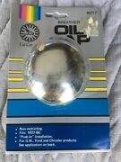 Vintage Cal Custom 6017 Push In Chrome Oil Breather Cap Fits 1937 1966 Ford Gm