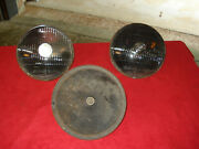 Vintage 6 Volt Headlights 40and039s 50and039s Bullseye =2