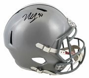 Ohio State Nick Bosa Authentic Signed Full Size Speed Rep Helmet Bas Witnessed