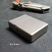 Titanium Alloy Square Box Large Hinge Thick Shell Windproof Personal Gift Hiking