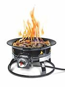 Outland Firebowl 893 Deluxe Outdoor Portable Propane Gas Fire Pit With Cover And C