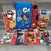 The Amazing Spiderman Leap Pad Marvel Learning Reading System Leap Frog 2004 Lot