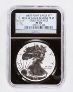 2013-w Reverse Proof Silver American Eagle Ngc Pf70 Early Releases 1