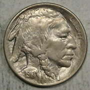 1914 Buffalo Nickel Possible 14/3 Overdate Choice Almost Uncirculated 0514-08