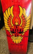 Dogtown Wes Humpston Big Foot Skateboard Deck 8. Red Stain